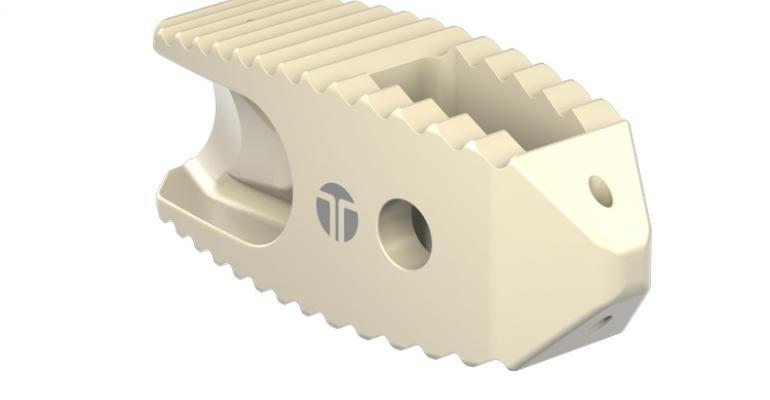 Solvay's Zeniva PEEK takes on titanium in spinal implant device