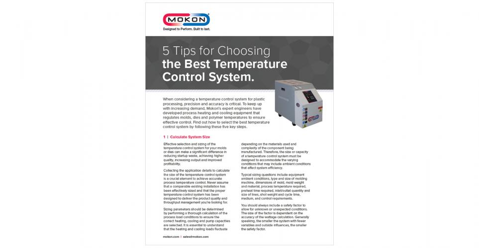 5 Tips for Choosing the Best Temperature Control System