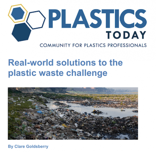 Real-world solutions to the plastic waste challenge