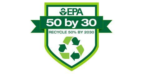 EPA National Recycling Goal logo