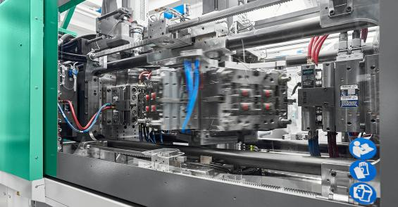 Arburg Adds Compact 1800-kN Press to Hybrid Cube Molding Line