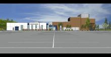 Minnesota Rubber and Plastics Innovation Center rendering